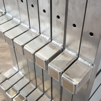 Heijon Metaal Aluminium Mig Tig lassen Frame (9)